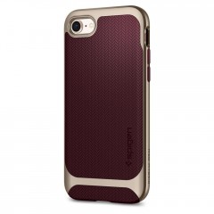 Neo Hybrid Herringbone kryt iPhone 8 Burgundy (2)