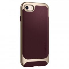 Neo Hybrid Herringbone kryt iPhone 8 Burgundy (4)