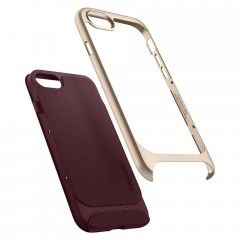 Neo Hybrid Herringbone kryt iPhone 8 Burgundy (6)