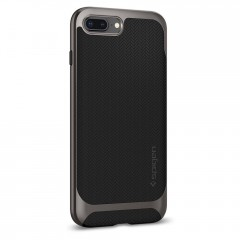 Neo Hybrid Herringbone kryt iPhone 8 Plus Gunmetal (4)