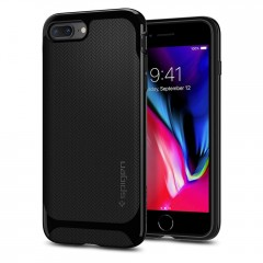 Spigen Neo Hybrid Herringbone kryt iPhone 7 Plus / 8 Plus Shiny Black