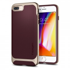 Spigen Neo Hybrid Herringbone kryt iPhone 7 Plus / 8 Plus Burgundy