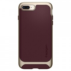 Neo Hybrid Herringbone kryt iPhone 8 Plus Burgundy (3)