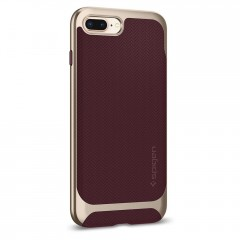 Neo Hybrid Herringbone kryt iPhone 8 Plus Burgundy (4)