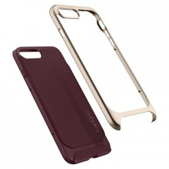 Neo Hybrid Herringbone kryt iPhone 8 Plus Burgundy (6)