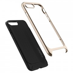 Neo Hybrid Herringbone kryt iPhone 8 Plus Champagne Gold (6)
