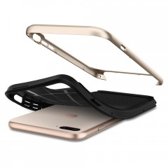 Neo Hybrid Herringbone kryt iPhone 8 Plus Champagne Gold (7)