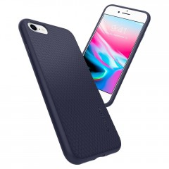 Liquid Air Armor kryt iPhone 8 Midnight Blue (7)