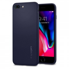 Liquid Air Armor kryt iPhone 8 Plus Midnight Blue (1)