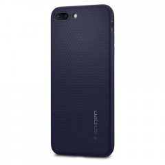 Liquid Air Armor kryt iPhone 8 Plus Midnight Blue (2)