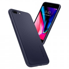 Liquid Air Armor kryt iPhone 8 Plus Midnight Blue (7)