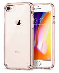 Spigen Ultra Hybrid 2 kryt iPhone 7 / 8 Rose Crystal