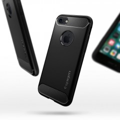 Rugged Armor kryt iPhone 8 Black (11)