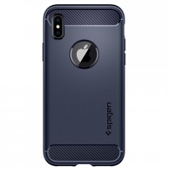 Rugged Armor kryt iPhone X Midnight Blue (3)