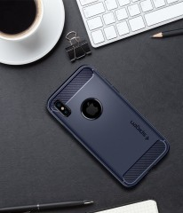 Rugged Armor kryt iPhone X Midnight Blue (11)