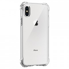 Rugged Crystal kryt iPhone X Crystal Clear (5)