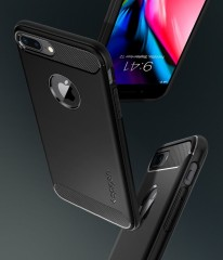 Rugged Armor kryt iPhone 7 Plus / 8 Plus Black (11)