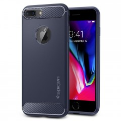 Spigen Rugged Armor kryt iPhone 7 Plus / 8 Plus Midnight Blue