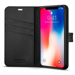 Spigen Wallet S kryt iPhone X / XS Black