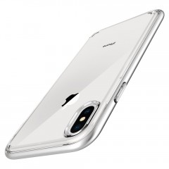 Neo Hybrid Crystal kryt iPhone X Satin Silver (3)