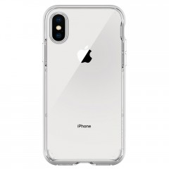 Neo Hybrid Crystal kryt iPhone X Satin Silver (4)