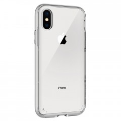 Neo Hybrid Crystal kryt iPhone X Satin Silver (5)