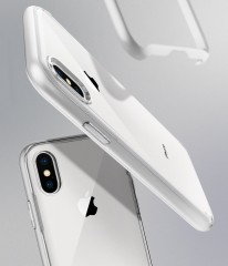 Neo Hybrid Crystal kryt iPhone X Satin Silver (11)