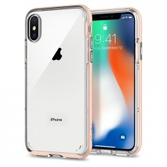 Spigen Neo Hybrid Crystal kryt iPhone X / XS Blush Gold
