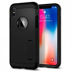 Spigen Tough Armor kryt iPhone X / XS Matte Black
