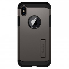 Tough Armor kryt iPhone X Gunmetal (2)