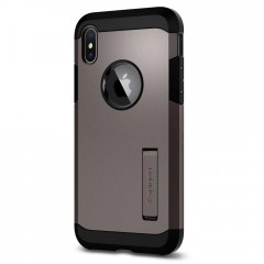 Tough Armor kryt iPhone X Gunmetal (3)