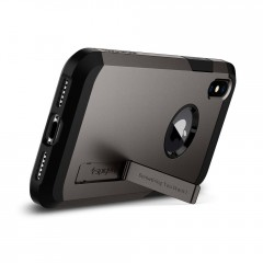 Tough Armor kryt iPhone X Gunmetal (6)