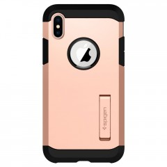 Tough Armor kryt iPhone X Blush Gold (2)