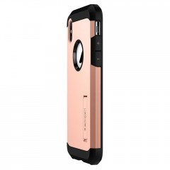 Tough Armor kryt iPhone X Blush Gold (4)