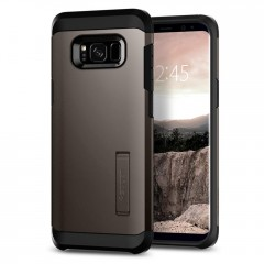 Spigen Tough Armor kryt Galaxy S8+ Gunmetal