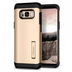 Spigen Tough Armor kryt Galaxy S8+ Gold Maple