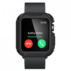 Tough Armor 2 pouzdro Apple Watch 3 / 2 / 1 [38 mm] Matte Black (2)