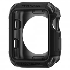 Tough Armor 2 pouzdro Apple Watch 3 / 2 / 1 [38 mm] Matte Black (7)
