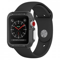 Spigen Rugged Armor pouzdro Apple Watch 3 / 2 / 1 [38 mm] Black