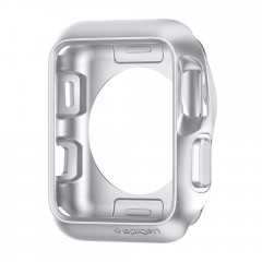 Slim Armor pouzdro Apple Watch 3 / 2 / 1 [38 mm] Silver (4)
