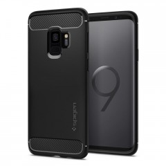 Spigen Rugged Armor kryt Galaxy S9 Black