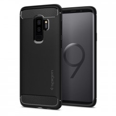 Spigen Rugged Armor kryt Galaxy S9+ Black
