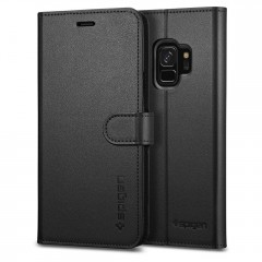Spigen Wallet S kryt Galaxy S9 Black