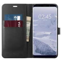 Wallet S kryt Galaxy S9+ Black (2)