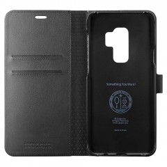 Wallet S kryt Galaxy S9+ Black (4)