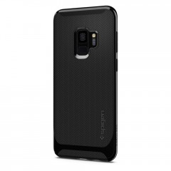 Neo Hybrid kryt Galaxy S9 Shiny Black (4)