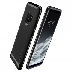 Neo Hybrid kryt Galaxy S9 Shiny Black (7)