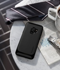Neo Hybrid kryt Galaxy S9 Shiny Black (11)