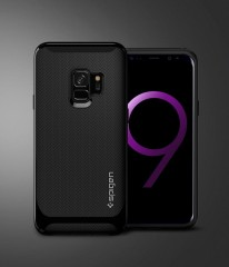 Neo Hybrid kryt Galaxy S9 Shiny Black (12)