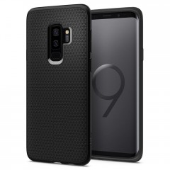 Spigen Liquid Air kryt Galaxy S9+ Matte Black